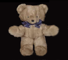 Heirloom Bears & Bunnies created from a family fur can be personalized with the monogram from the original lining.