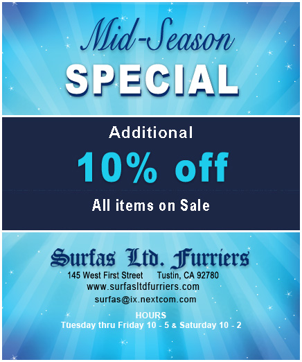 Surfas Ltd Coupon - Jan 2019